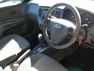 2007 Kia Rio JB Black 4 Speed Automatic Hatchback