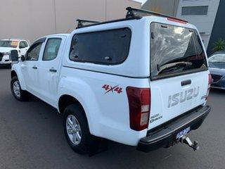 2016 Isuzu D-MAX MY15 LS-M Crew Cab White 5 Speed Sports Automatic Utility.