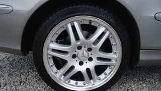 2003 Mercedes-Benz CLK-Class C209 CLK320 Avantgarde Silver 5 Speed Automatic Coupe.