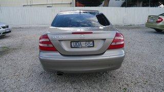 2003 Mercedes-Benz CLK-Class C209 CLK320 Avantgarde Silver 5 Speed Automatic Coupe