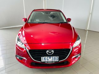 2017 Mazda 3 BN5236 SP25 SKYACTIV-MT GT Red 6 Speed Manual Sedan.