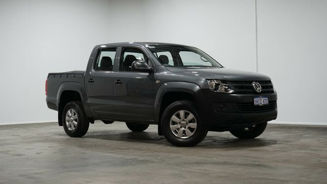 Used Volkswagen Amarok 2H MY14 TDI420 4Motion Perm Welshpool, 2014 Volkswagen Amarok 2H MY14 TDI420 4Motion Perm Grey 8 Speed Automatic Utility