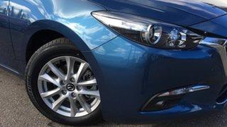 2018 Mazda 3 BN5278 Maxx SKYACTIV-Drive Sport Blue 6 Speed Sports Automatic Sedan.