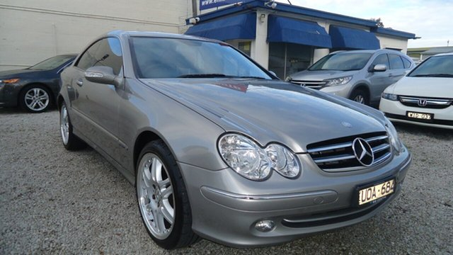 Used Mercedes-Benz CLK-Class C209 CLK320 Avantgarde Seaford, 2003 Mercedes-Benz CLK-Class C209 CLK320 Avantgarde Silver 5 Speed Automatic Coupe