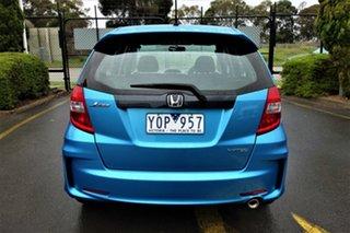 2011 Honda Jazz GE MY11 VTi Blue 5 Speed Automatic Hatchback
