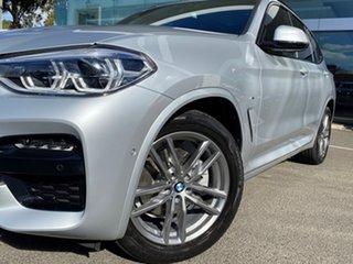 2019 BMW X3 G01 xDrive20d M Sport Glacier Silver 8 Speed Automatic Steptronic Wagon.