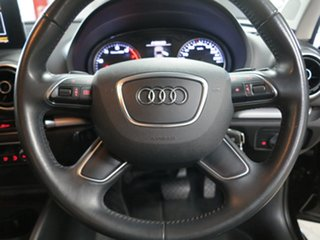 2015 Audi A3 8V MY15 Attraction S Tronic Black 7 Speed Sports Automatic Dual Clutch Sedan