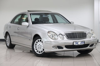 2004 Mercedes-Benz E-Class W211 E320 Elegance Silver 5 Speed Sports Automatic Sedan.