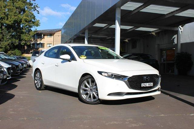 Used Mazda 3 BP2S7A G20 SKYACTIV-Drive Evolve Waitara, 2020 Mazda 3 BP2S7A G20 SKYACTIV-Drive Evolve White 6 Speed Sports Automatic Sedan
