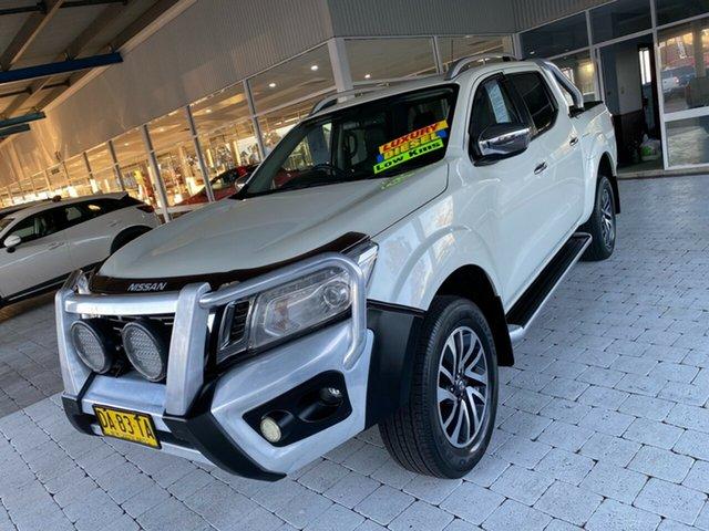 Used Nissan Navara ST-X Taree, 2017 Nissan Navara ST-X White Sports Automatic Dual Cab Utility
