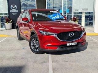 2017 Mazda CX-5 KE1032 Maxx SKYACTIV-Drive i-ACTIV AWD Sport Soul Red 6 Speed Sports Automatic Wagon.
