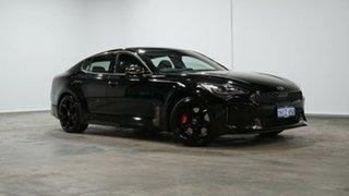 2020 Kia Stinger CK MY20 GT Fastback Black 8 Speed Sports Automatic Sedan.