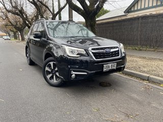 2018 Subaru Forester S4 MY18 2.5i-L CVT AWD Luxury Black 6 Speed Constant Variable Wagon.