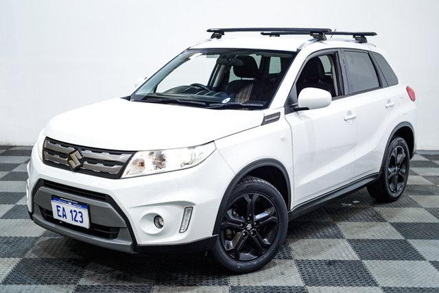 Used Suzuki Vitara LY RT-S 2WD Edgewater, 2016 Suzuki Vitara LY RT-S 2WD White 6 Speed Sports Automatic Wagon