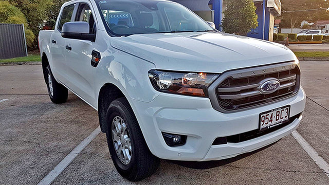 Used Ford Ranger PX MkIII 2021.25MY XLS Capalaba, 2021 Ford Ranger PX MkIII 2021.25MY XLS Arctic White 6 Speed Sports Automatic Double Cab Pick Up