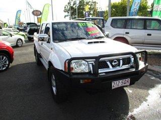 2012 Nissan Navara D22 STR White 5 Speed Manual Dual Cab.