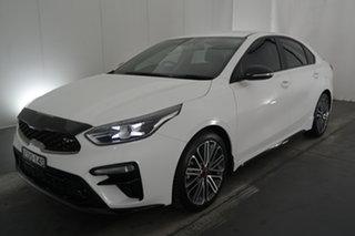 2019 Kia Cerato BD MY19 GT DCT White 7 Speed Sports Automatic Dual Clutch Sedan.