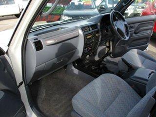 1999 Toyota Landcruiser Prado GXL White 5 Speed Manual Wagon
