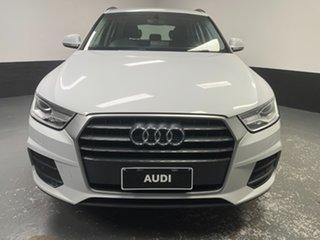 2018 Audi Q3 8U MY18 TFSI S Tronic Glacier White 6 Speed Sports Automatic Dual Clutch Wagon.