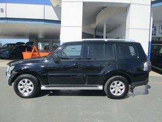 2009 Mitsubishi Pajero NT GLS LWB (4x4) Black 5 Speed Auto Sports Mode Wagon.