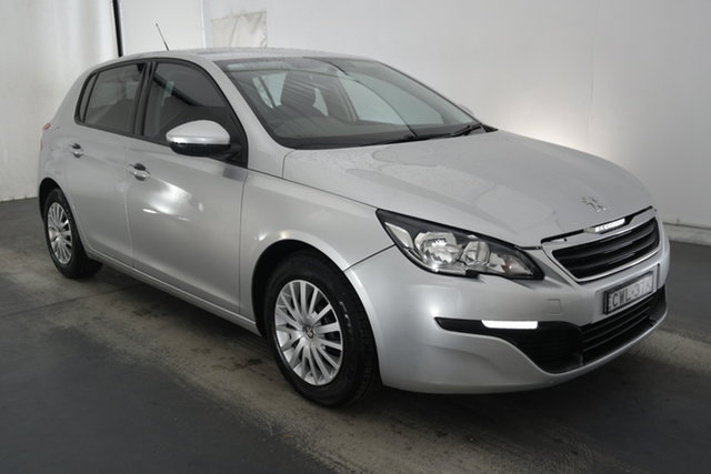 Used Peugeot 308 T9 Access Maryville, 2014 Peugeot 308 T9 Access Grey 6 Speed Sports Automatic Hatchback