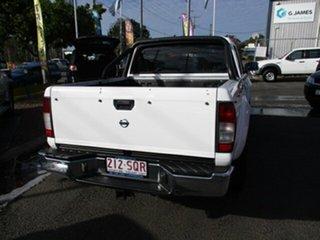 2012 Nissan Navara D22 STR White 5 Speed Manual Dual Cab