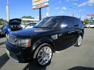 2011 Land Rover Range Rover Sport L320 11MY TDV6 Autobiography Black 6 Speed Sports Automatic Wagon.