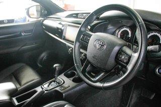 2018 Toyota Hilux GUN126R Rogue (4x4) Silver Sky 6 Speed Automatic Dual Cab Utility