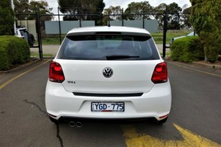 2011 Volkswagen Polo 6R MY11 GTI DSG White 7 Speed Sports Automatic Dual Clutch Hatchback