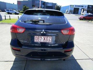 2013 Mitsubishi Lancer CJ MY13 LX Sportback Dark Blue 6 Speed Constant Variable Hatchback