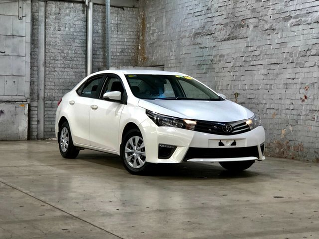 Used Toyota Corolla ZRE172R Ascent S-CVT Mile End South, 2016 Toyota Corolla ZRE172R Ascent S-CVT White 7 Speed Constant Variable Sedan