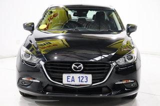2017 Mazda 3 BN5278 Touring SKYACTIV-Drive Black 6 Speed Sports Automatic Sedan.