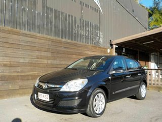 2008 Holden Astra AH MY08 CD Black 4 Speed Automatic Hatchback