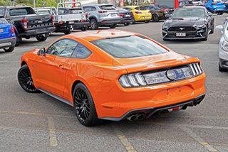 2018 Ford Mustang FN 2019MY GT Orange 6 Speed Manual Fastback.