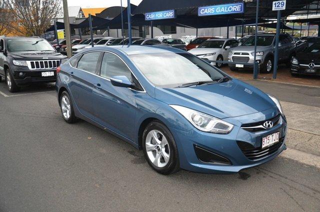 Used Hyundai i40 VF 2 Active Toowoomba, 2013 Hyundai i40 VF 2 Active Blue 6 Speed Automatic Sedan