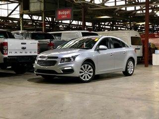 2015 Holden Cruze JH Series II MY15 CDX Silver 6 Speed Sports Automatic Sedan.