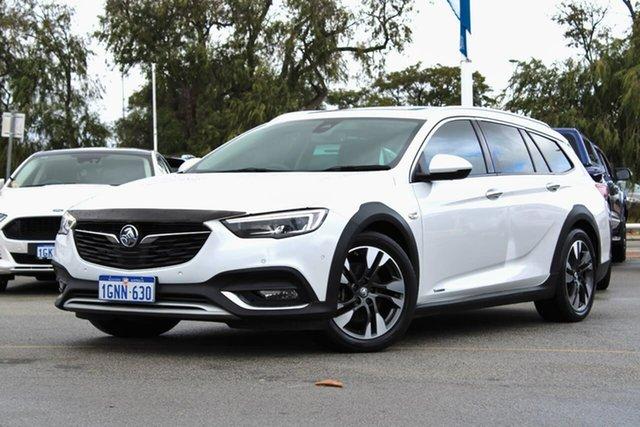 Used Holden Calais ZB MY18 V Tourer AWD Midland, 2018 Holden Calais ZB MY18 V Tourer AWD White 9 Speed Sports Automatic Wagon