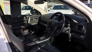 2012 Mazda 6 GH1052 MY12 Touring White 5 Speed Sports Automatic Hatchback