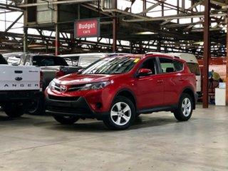 2013 Toyota RAV4 ASA44R GX AWD Red 6 Speed Sports Automatic Wagon.