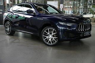 2017 Maserati Levante M161 MY17 Luxury Q4 Blue 8 Speed Sports Automatic Wagon.