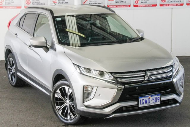 Pre-Owned Mitsubishi Eclipse Cross YA MY18 LS (2WD) Rockingham, 2018 Mitsubishi Eclipse Cross YA MY18 LS (2WD) Sterling Silver Continuous Variable Wagon