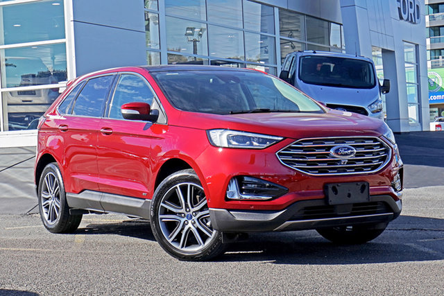 Used Ford Endura CA 2019MY Titanium Ebbw Vale, 2018 Ford Endura CA 2019MY Titanium Red 8 Speed Sports Automatic Wagon