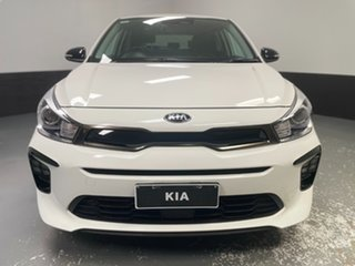 2020 Kia Rio YB MY20 GT-Line DCT White 7 Speed Sports Automatic Dual Clutch Hatchback.