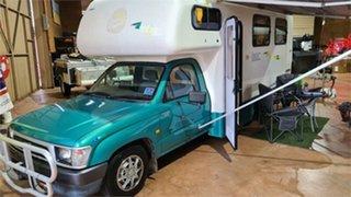 2000 Toyota HILUX MATILDA MOTORHOME White Motor Home.