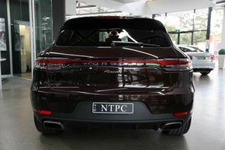 2020 Porsche Macan 95B MY20 PDK AWD Maroon 7 Speed Sports Automatic Dual Clutch Wagon