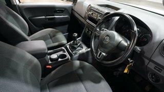 2013 Volkswagen Amarok 2H MY14 TDI400 4Mot White 6 Speed Manual Cab Chassis