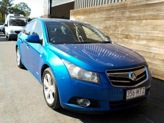 2010 Holden Cruze JG CDX Blue 6 Speed Sports Automatic Sedan.