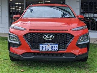 2019 Hyundai Kona OS.2 MY19 Active 2WD Orange 6 Speed Sports Automatic Wagon.