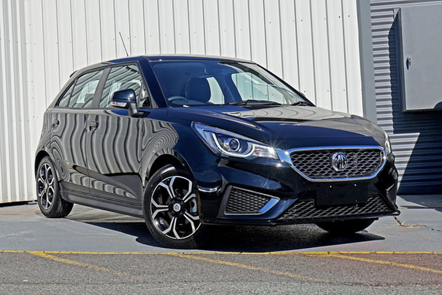 New MG MG3 SZP1 MY21 Excite Springwood, 2021 MG MG3 SZP1 MY21 Excite Black 4 Speed Automatic Hatchback