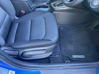 2016 Hyundai Elantra AD MY17 Active Marina Blue 6 Speed Sports Automatic Sedan